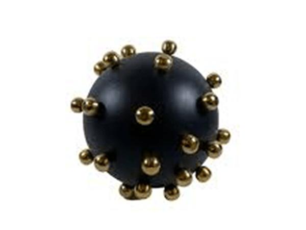 Gold Biyeli 20 cm Siyah Top Dekor